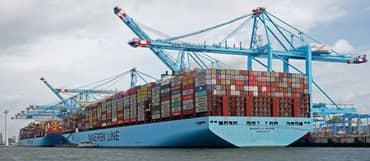 Sea cargo Full container